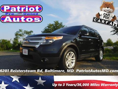 2014 Ford Explorer for sale in Baltimore, MD
