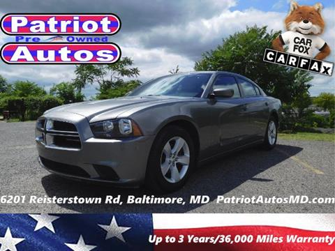 2012 Dodge Charger for sale in Baltimore MD