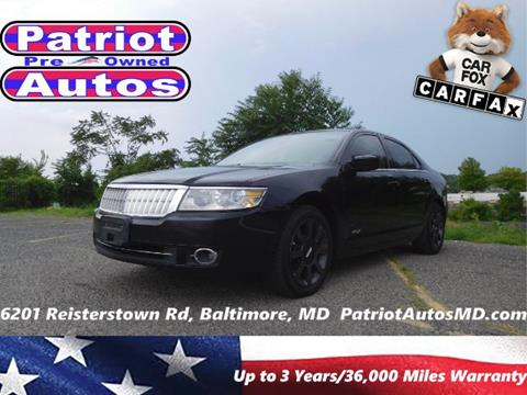 2008 Lincoln MKZ for sale in Baltimore, MD
