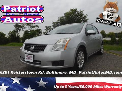 2007 Nissan Sentra for sale in Baltimore MD