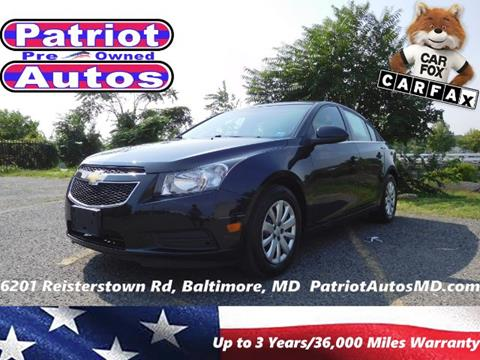 2011 Chevrolet Cruze for sale in Baltimore MD
