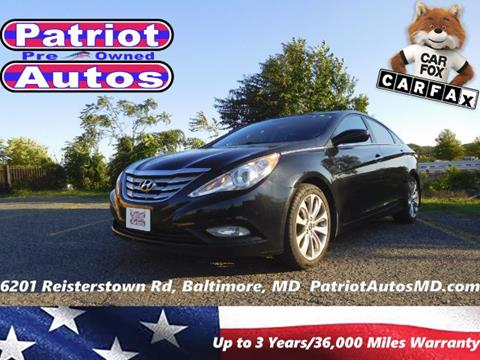 2012 Hyundai Sonata for sale in Baltimore, MD