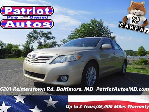 2011 Toyota Camry for sale in Baltimore MD