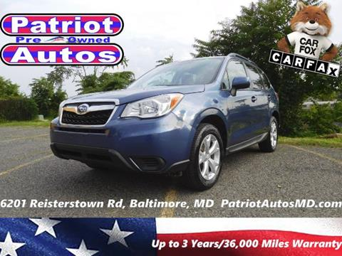 2014 Subaru Forester for sale in Baltimore MD