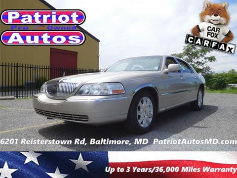 2005 Lincoln Town Car for sale in Baltimore, MD