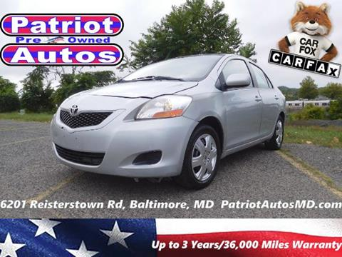 2009 Toyota Yaris for sale in Baltimore MD