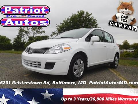 2008 Nissan Versa for sale in Baltimore MD