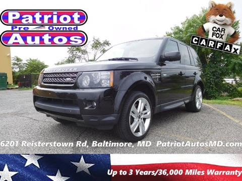 2013 Land Rover Range Rover Sport for sale in Baltimore, MD