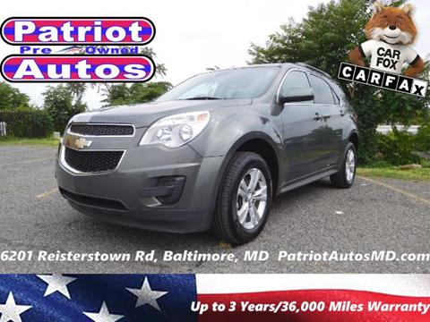 2013 Chevrolet Equinox for sale in Baltimore, MD