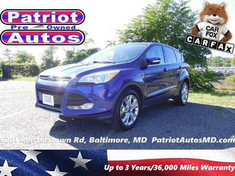 2013 Ford Escape for sale in Baltimore MD