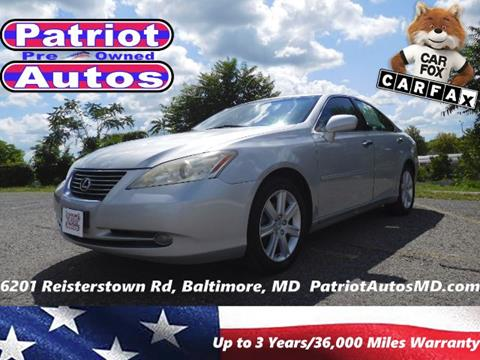 2009 Lexus ES 350 for sale in Baltimore MD