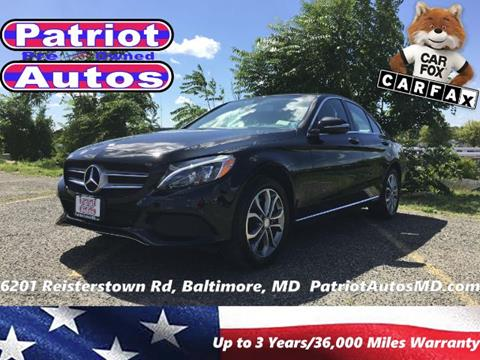 2015 Mercedes-Benz C-Class for sale in Baltimore MD