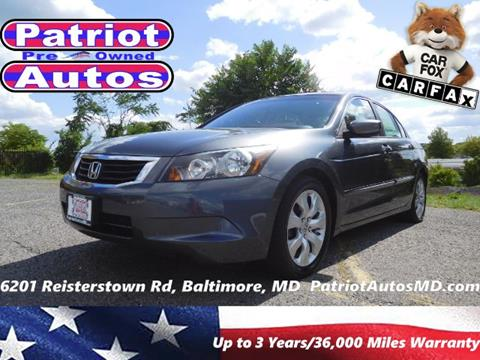 2010 Honda Accord for sale in Baltimore MD