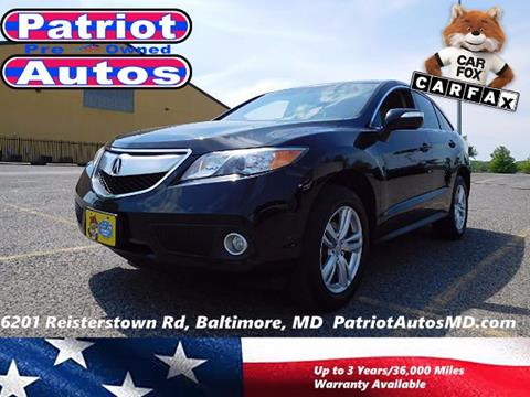2013 Acura RDX for sale in Baltimore MD