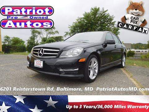 2014 Mercedes-Benz C-Class for sale in Baltimore MD