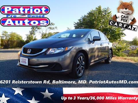 2014 Honda Civic for sale in Baltimore, MD
