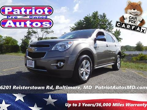 2012 Chevrolet Equinox for sale in Baltimore MD