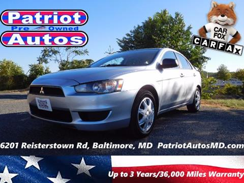 2009 Mitsubishi Lancer for sale in Baltimore MD