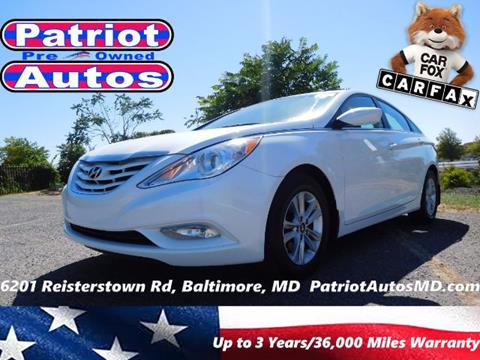 2013 Hyundai Sonata for sale in Baltimore MD