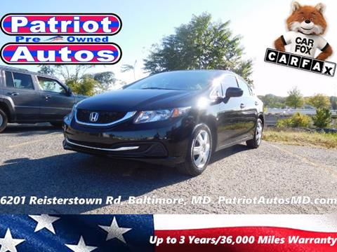 2014 Honda Civic for sale in Baltimore MD
