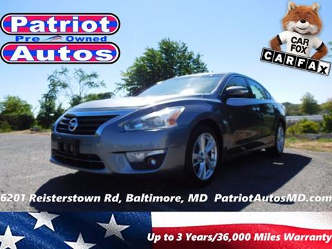 2014 Nissan Altima for sale in Baltimore MD