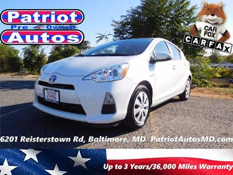 2013 Toyota Prius c for sale in Baltimore, MD