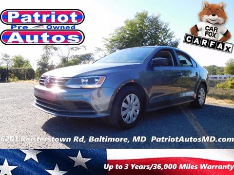 2016 Volkswagen Jetta for sale in Baltimore MD