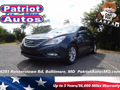 2013 Hyundai Sonata for sale in Baltimore, MD