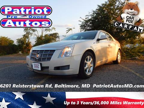 2009 Cadillac CTS for sale in Baltimore MD