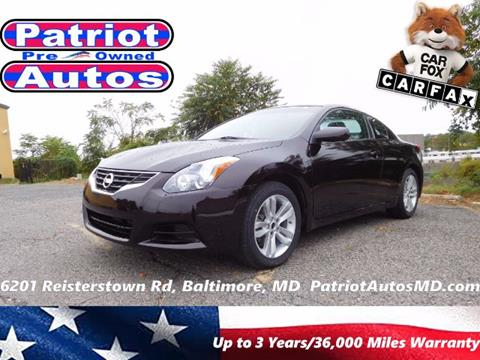 2013 Nissan Altima for sale in Baltimore, MD