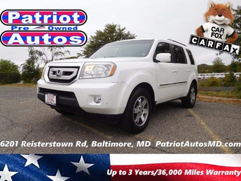 2011 Honda Pilot for sale in Baltimore MD