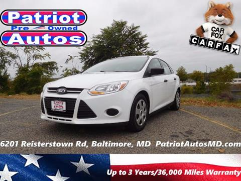 2013 Ford Focus for sale in Baltimore, MD