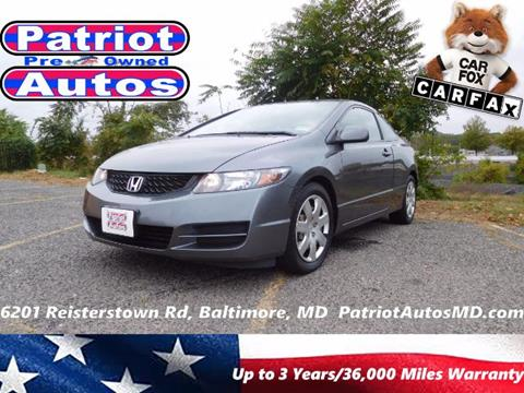 2011 Honda Civic for sale in Baltimore MD