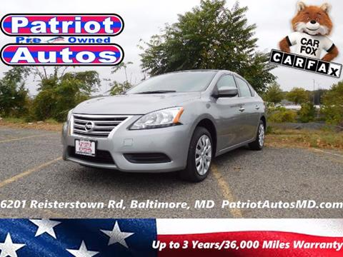 2014 Nissan Sentra for sale in Baltimore MD