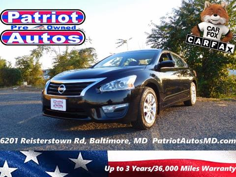 2015 Nissan Altima for sale in Baltimore, MD