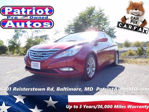 2011 Hyundai Sonata for sale in Baltimore MD