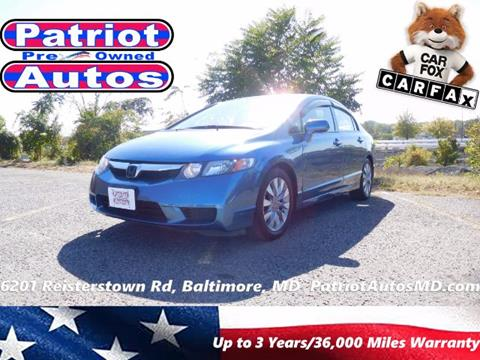 2010 Honda Civic for sale in Baltimore, MD