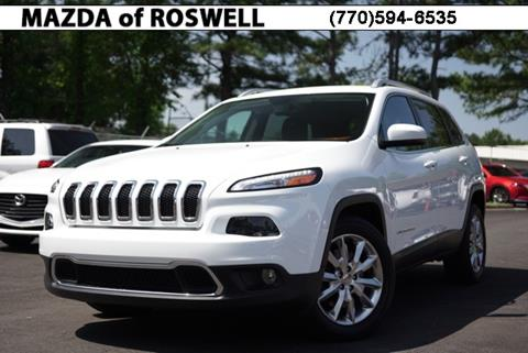 2016 Jeep Cherokee for sale in Roswell, GA