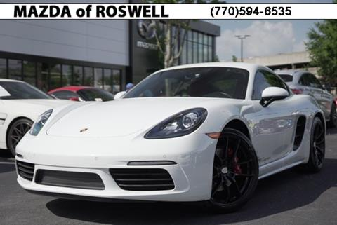 2018 Porsche 718 Cayman for sale in Roswell, GA