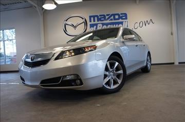 2013 Acura TL for sale in Roswell, GA