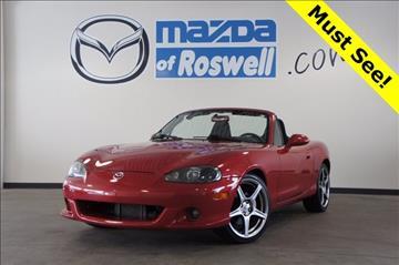 2004 Mazda MAZDASPEED MX-5 for sale in Roswell, GA