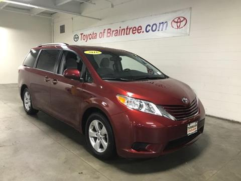 2016 Toyota Sienna for sale in Braintree, MA