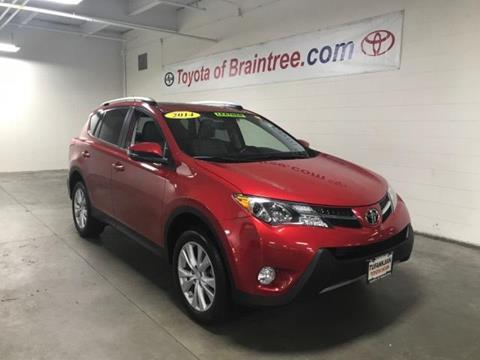 2014 Toyota RAV4 for sale in Braintree MA