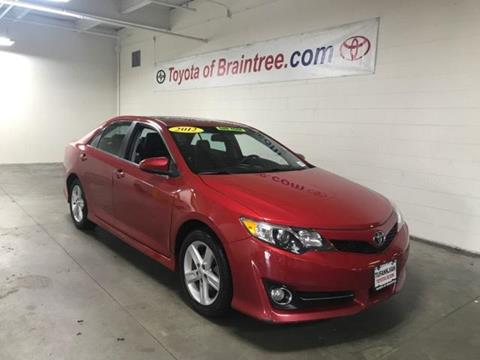 2012 Toyota Camry for sale in Braintree MA