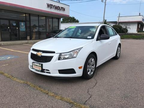 2014 Chevrolet Cruze for sale in Braintree MA