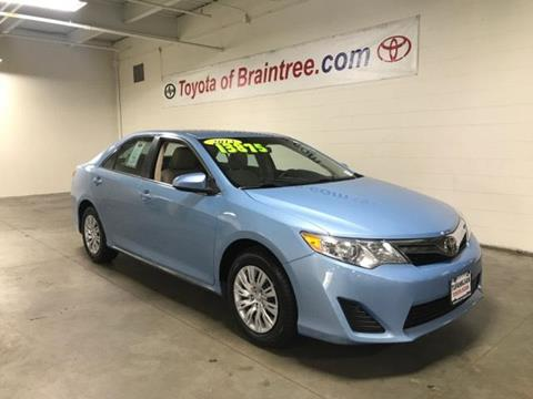 2013 Toyota Camry for sale in Braintree MA