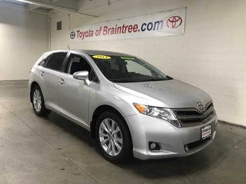 2014 Toyota Venza for sale in Braintree MA