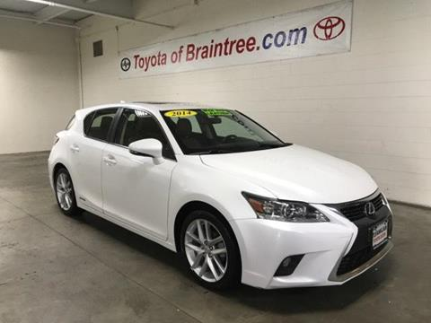 2014 Lexus CT 200h for sale in Braintree MA