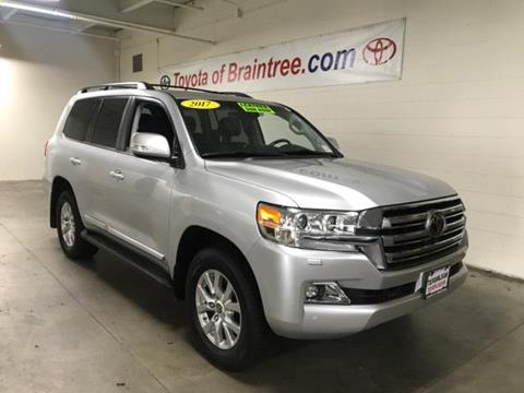 2017 Toyota Land Cruiser for sale in Braintree MA
