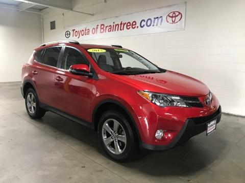 2015 Toyota RAV4 for sale in Braintree MA